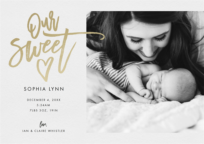 email online birth announcements that wow greenvelope com
