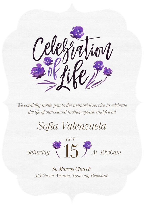 Floral Celebration Invitations in Yellow Greenvelopecom