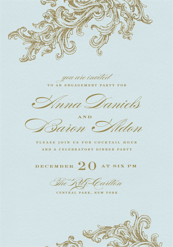Email Online Engagement Party Invitations that WOW Greenvelopecom