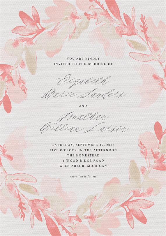 Wedding invitation designs greenvelope junglespirit Images
