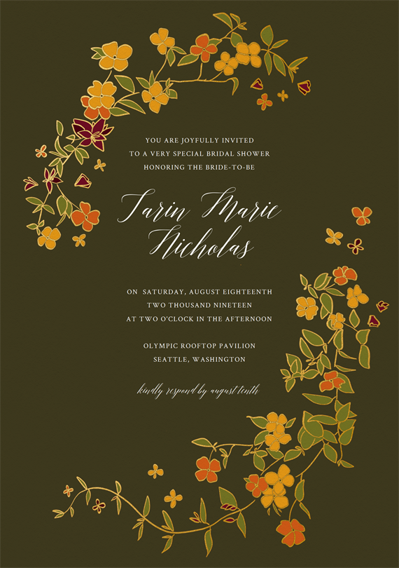 212d3bce172 Email Online Bridal Shower Invitations that WOW!