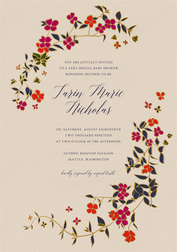 3fc972e77dec Email Online Baby Shower Invitations that WOW!