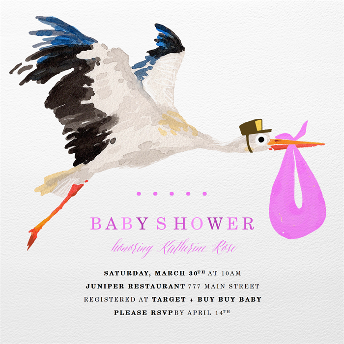 Email Online Baby Shower Invitations That Wow Greenvelope Com