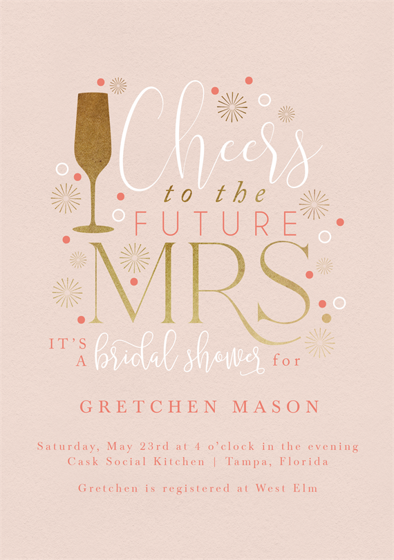 Email Online Bridal Shower Invitations That Wow Greenvelope Com