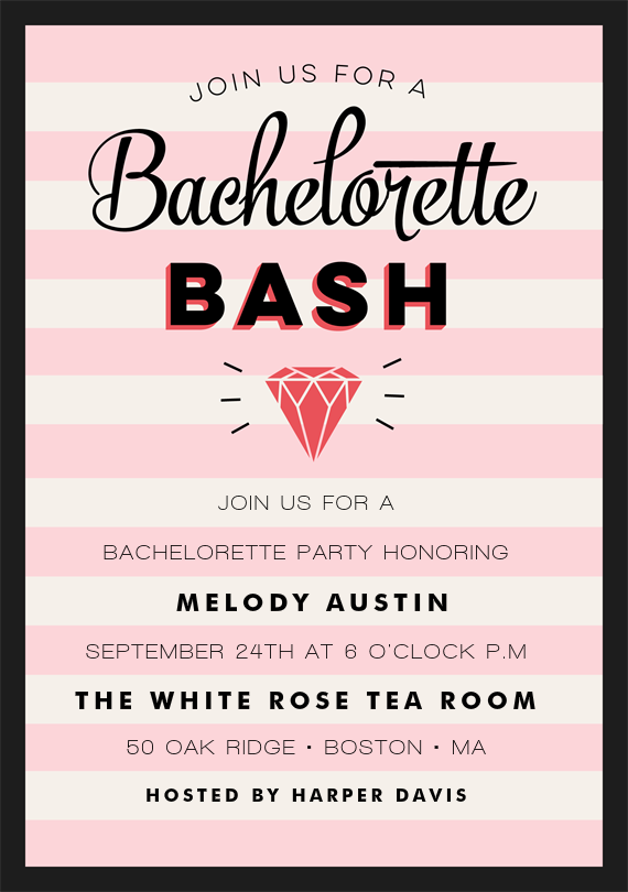 Email Online Bachelorette Party Invitations that WOW – Bachelor Party Email Invite
