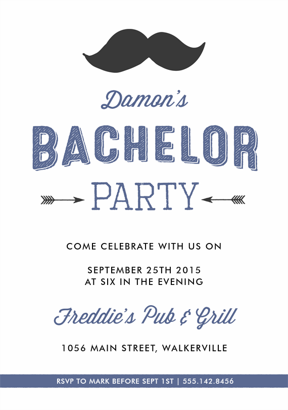 Email Online Bachelor Party Invitations that WOW – Bachelor Party Email Invite