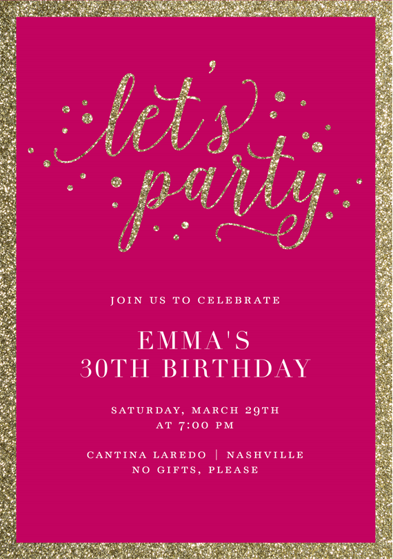 Email Online Birthday Party Invitations that WOW! | Greenvelope.com