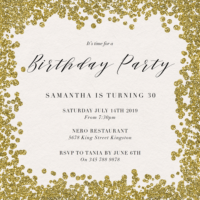 Birthday Party Invitations | Greenvelope.com