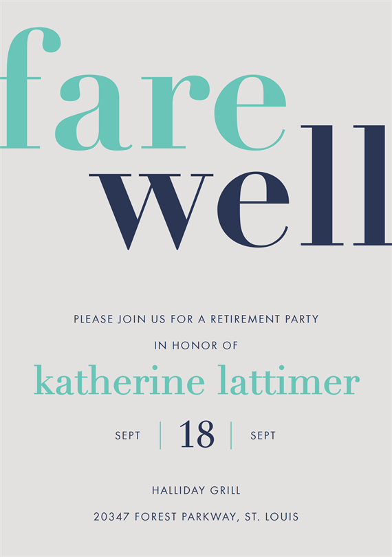 farewell friend invitations greenvelope com