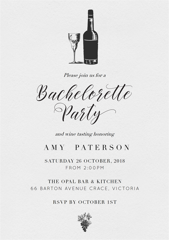 email online bachelorette party invitations that wow greenvelope com