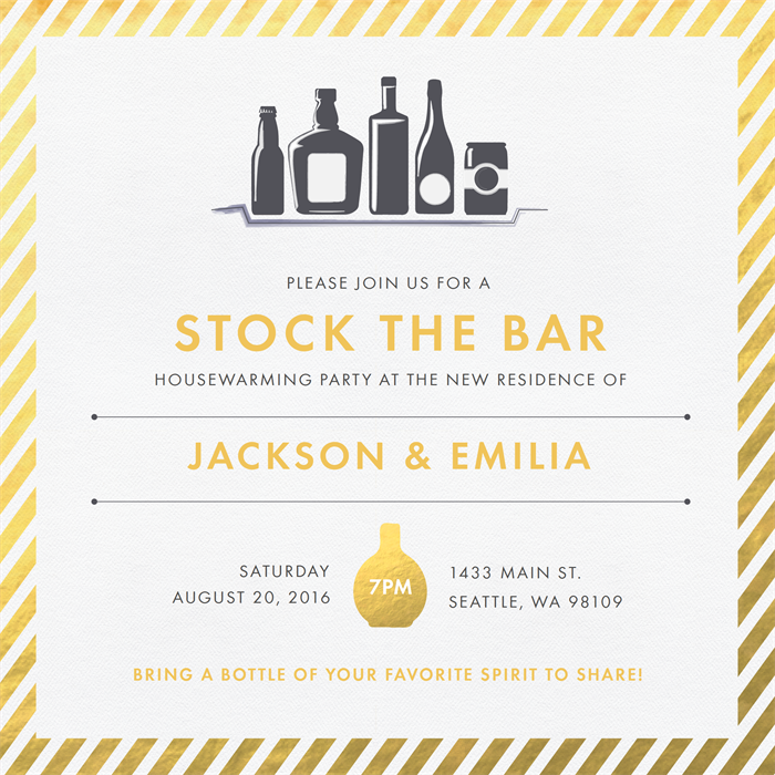 Email Online Housewarming Party Invitations that WOW