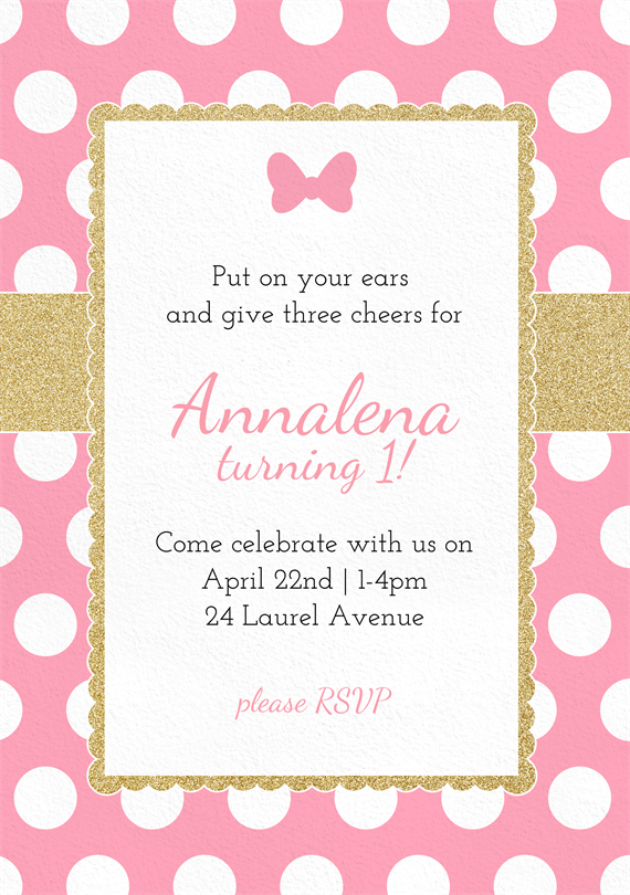 pink polka dot invitation elita aisushi co