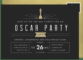 Mod Oscar Party Invitations Greenvelope Com