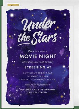 under the stars invitations greenvelope com