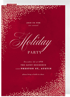 email online holiday party invitations that wow greenvelope com