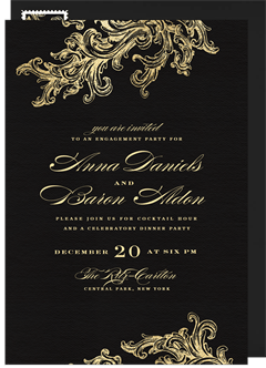 Engagement Party Invitation Designs Greenvelopecom