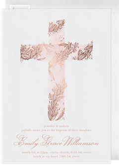 baptism christening invitations greenvelope com