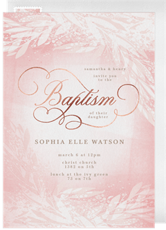 Email Online Baptism Communion Invitations That Wow Greenvelope Com