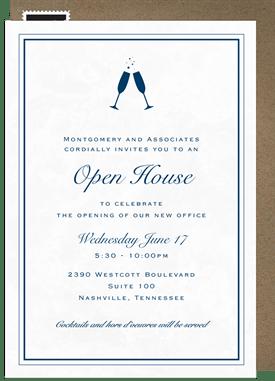 open house invitations greenvelope com