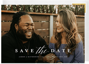 cacbcb4684 Wedding Save The Dates | Greenvelope.com