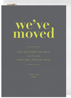 email online moving announcements that wow greenvelope com