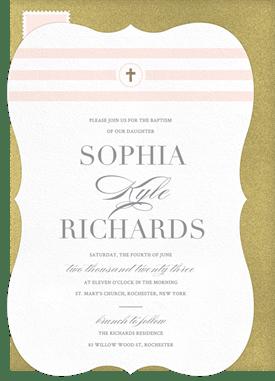 BaptismChristening Invitation Designs Greenvelopecom