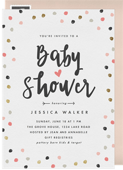 Baby Shower Invitations Greenvelope