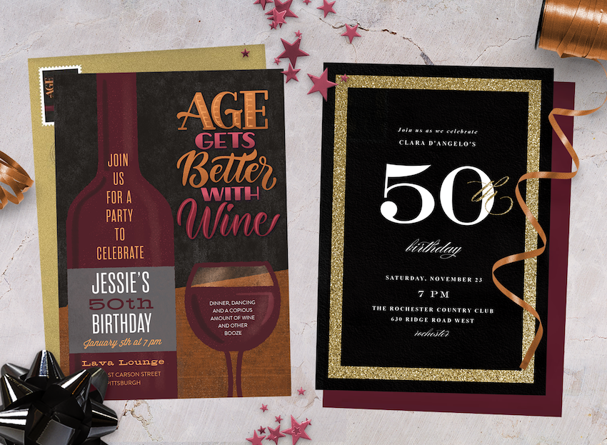 10 50th Birthday Invitations To