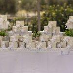 Wedding registry ideas: a table of wedding gifts