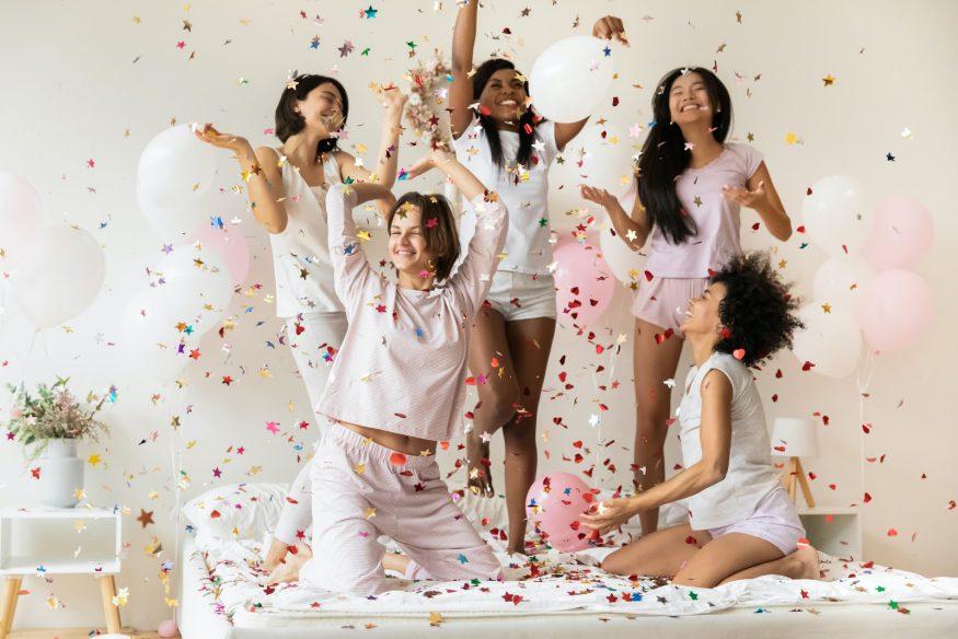 Bachelorette party ideas: A slumber party