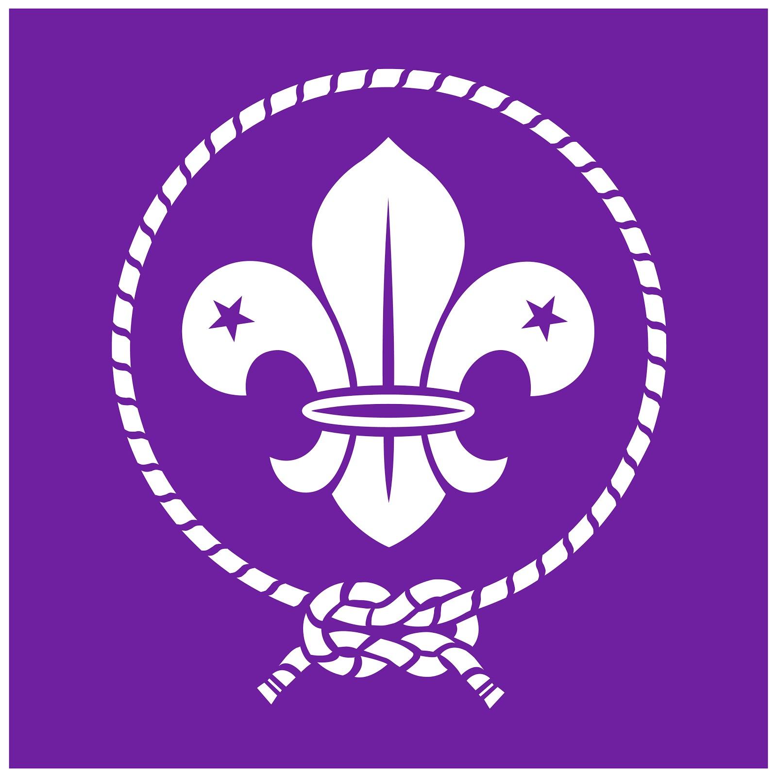 Eagle Scout logo in purple
