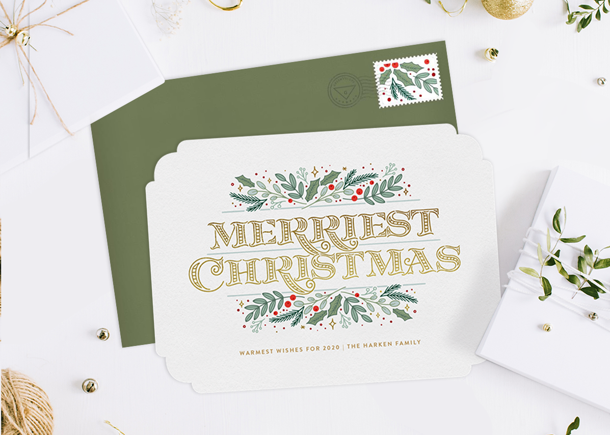 30 Christmas Card Greetings to Show Your Love, Gratitude, and Joy