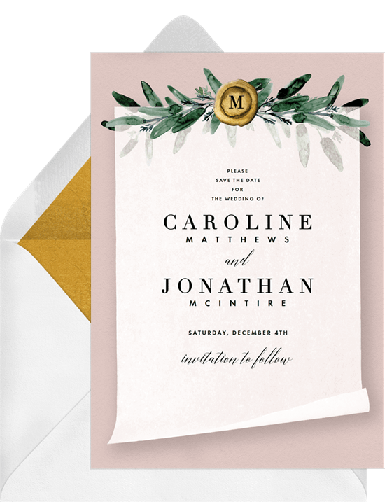 Finishing Touch Save the Date