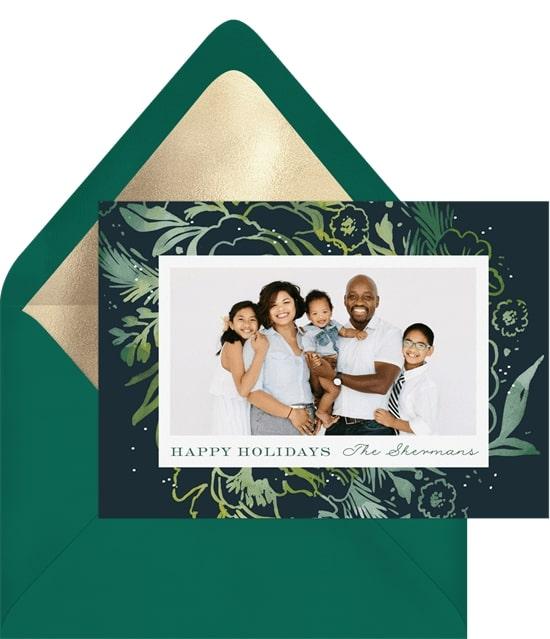 Holiday Splash Card