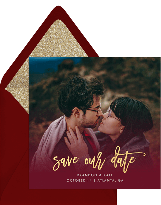 Misty Fade Save the Date