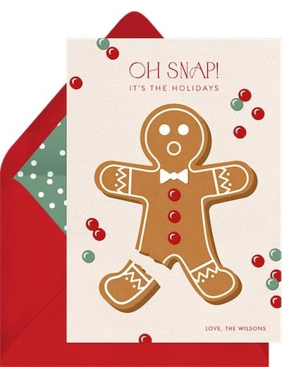 Oh Snap! Card