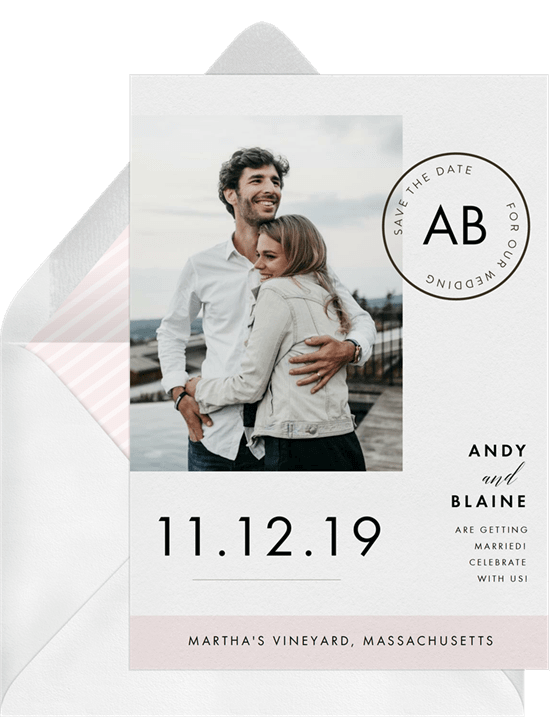Postmark Save the Date template