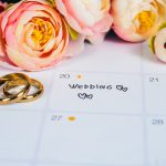 Average cost of wedding invitations: a planning calendar, flowers, and wedding bands