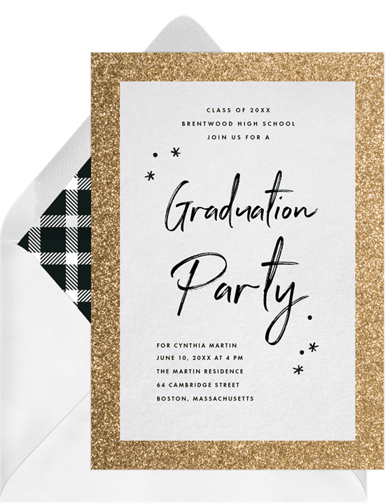 Festive Frame Invitation