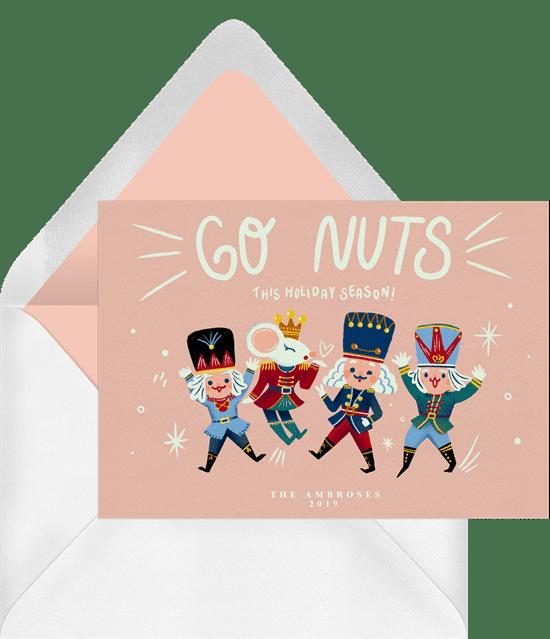 Go Nuts Christmas Card
