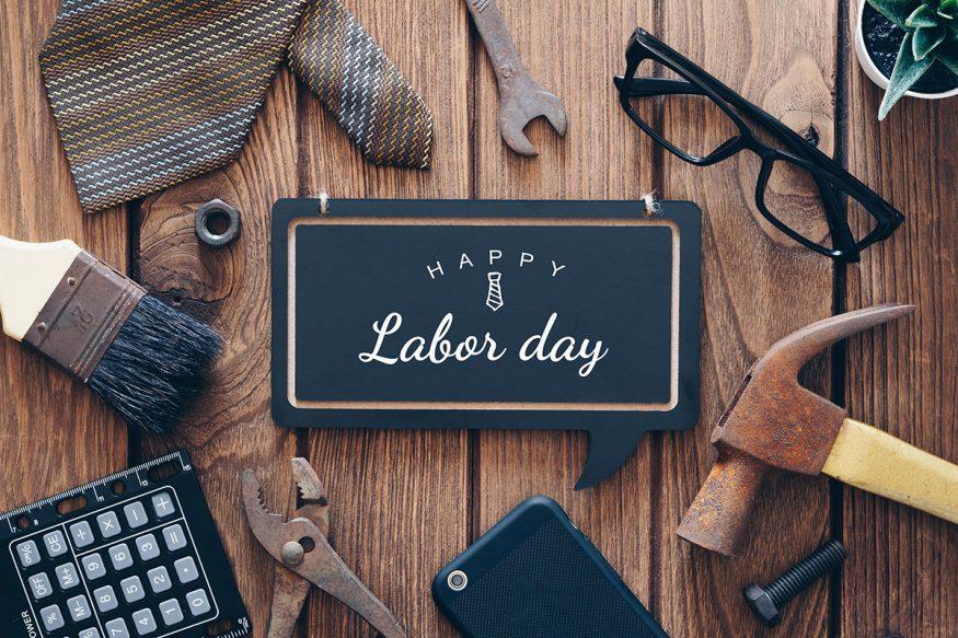 Labor Day party idea: happy Labor Day background concept