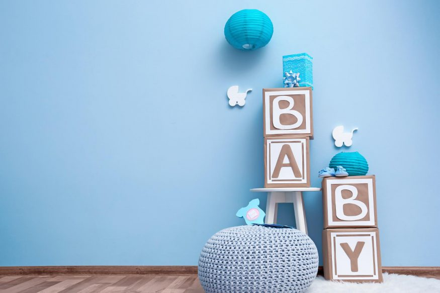 virtual baby shower ideas: Decoration for baby shower