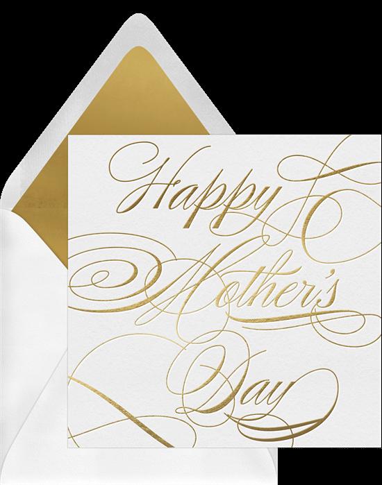 Mother's Day Flourish Card