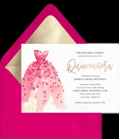 quinceanera themes: Masquerade Ball Quinceañera