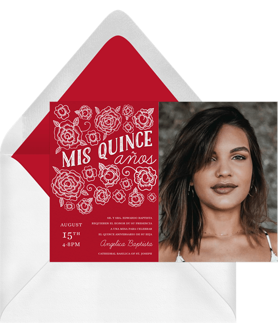 quinceanera party: Mis Quince Años Invitation by Greenvelope