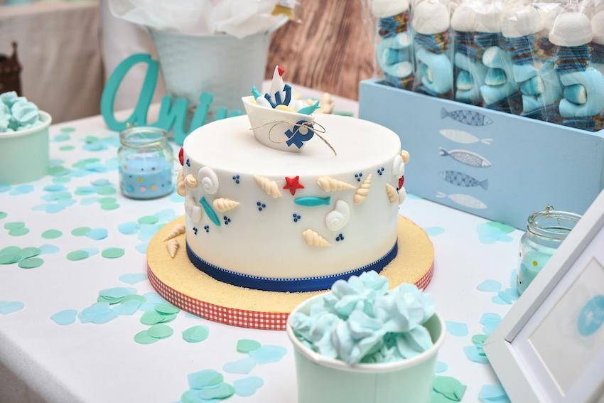Baby shower ideas for boys: Nautical theme decoration
