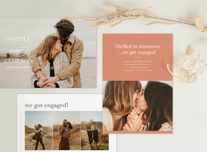 engagement announcement ideas example