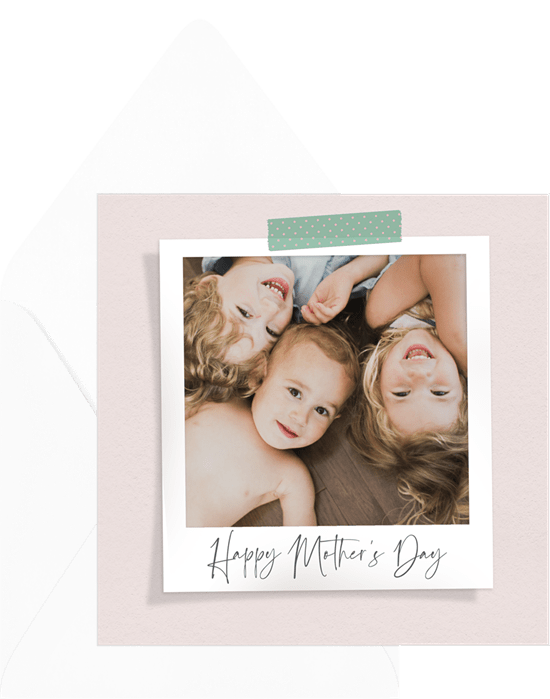 Mother's Day card ideas: Sweet Snapshot Card