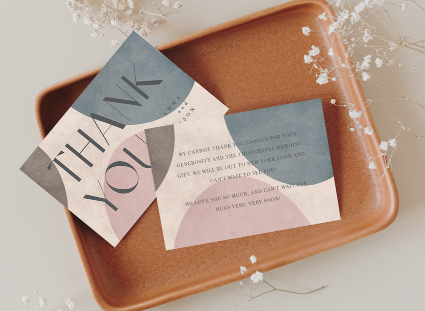how to write a thank you card example