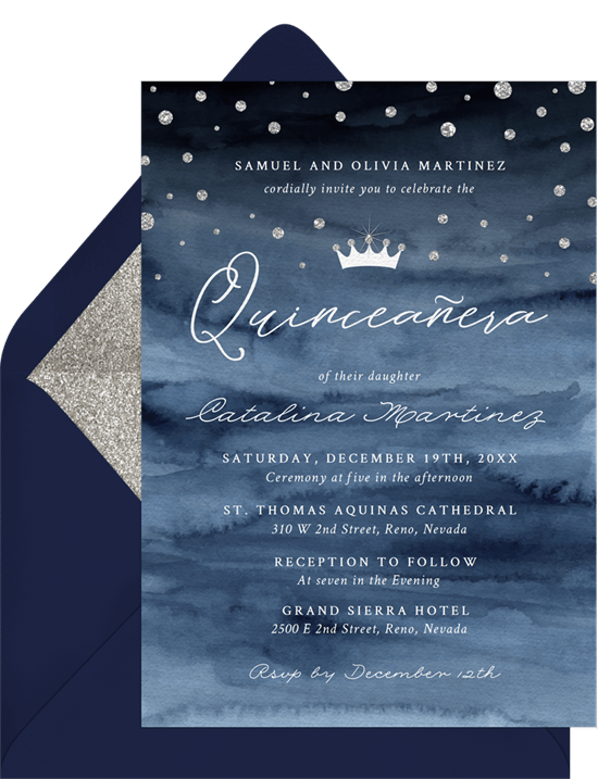 quinceanera party: For a Princess Invitation by Greenvelope